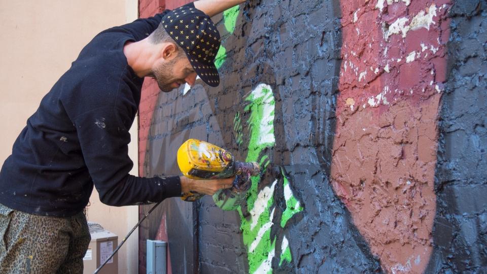murs à mots – 2014 - jason botkin – «making of»