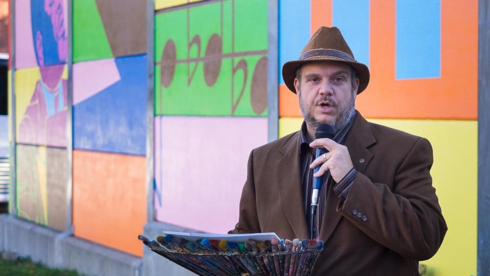 hommage à la petite-bourgogne – roadsworth – 2016 - inauguration