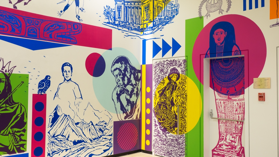 hommage à la collection permanente – mu – 2016 - détail