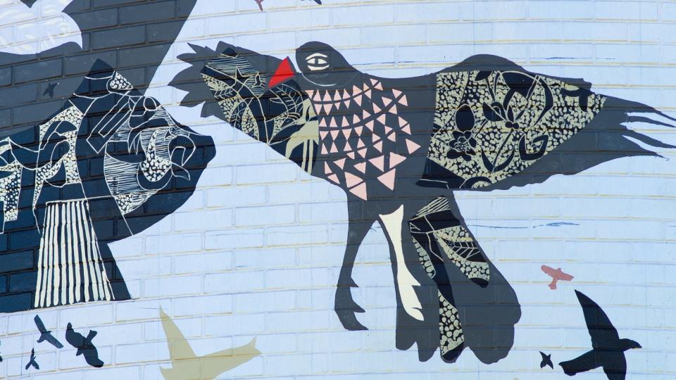 univers d'oiseaux, la volière de mont-tremblant – rené derouin – 2016 - détails