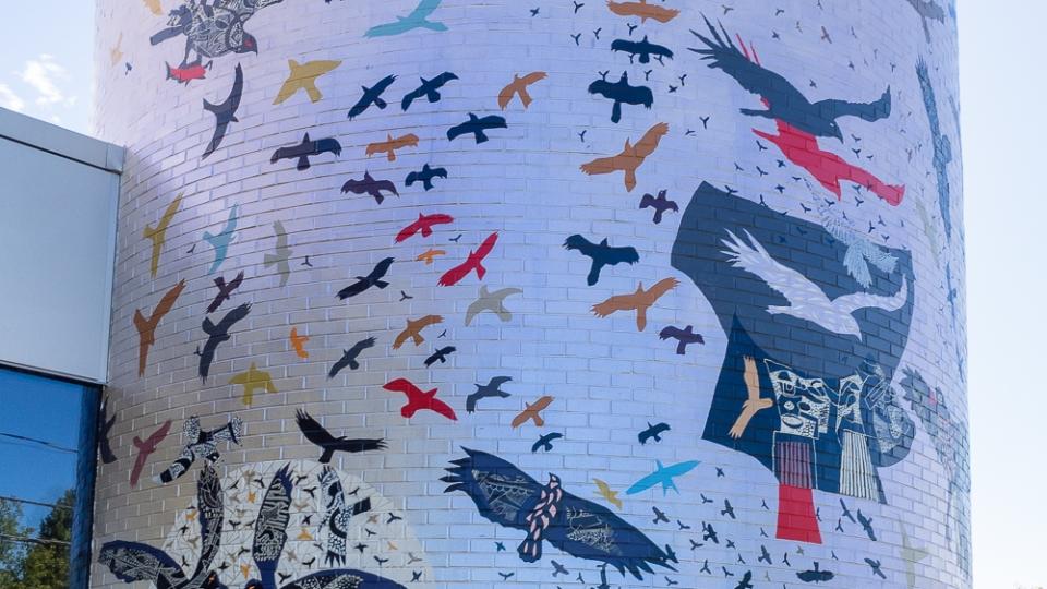 univers d'oiseaux, la volière de mont-tremblant – rené derouin – 2016 - résultat