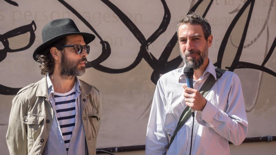 hommage à mordecai richler – dominique desbiens et bruno rouyère – 2016 - artistes